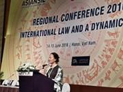 """""""国际法与一个活跃的亚洲""""研讨会在河内举行"""