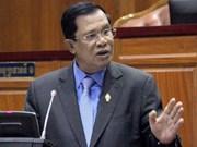 柬埔寨首相洪森宣布不会就救国党官员被捕一事进行谈判