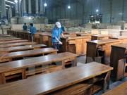 越南木制品主动参加国际市场