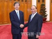 政府总理阮春福会见亚行行长兼董事会主席中尾武彦