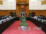 越南政府副总理王廷惠会见日本国际协力机构副主席富吉健一