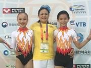 2016年世界健美操锦标赛:越南队夺得4枚金牌