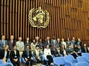 越南代表首次成为世卫组织结核病战略技术咨询小组成员