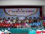 第4次东盟儿童论坛在河内拉开序幕