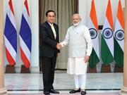 印度与泰国加强合作关系