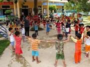 越南政府副总理武德儋会见联合国秘书长暴力侵害儿童问题特别代表