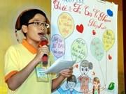 第四次东盟儿童论坛:区域内儿童发出的声音越来越受到重视