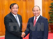 阮春福总理会见柬埔寨国务兼外交国际合作部大臣