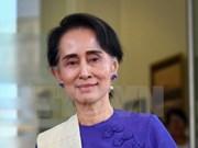 缅甸国家顾问昂山素季对泰国进行正式访问
