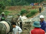 安沛省绥禄乡保持和提高新农村建设标准