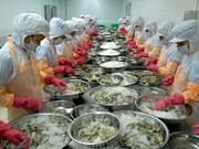 越南对中国的虾类出口额大幅度增加