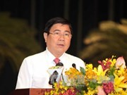 阮成锋以100%赞成票再次当选胡志明市人民委员会主席