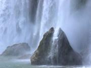 板约瀑布的独特之美