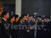 越南高级领导出席CASA-212失事飞机9名飞行员遗体告别仪式(组图)