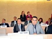联合国人权理事会通过越南所递交关于儿童权利和气候变化的决议