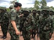 泰国同马来西亚进行联合军事演习
