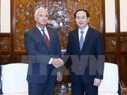 越南国家主席陈大光会见白俄罗斯驻越南大使