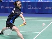 2016年美国羽毛球公开赛:越南选手武氏妆击败美国选手
