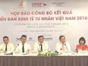 """""""越南私营经济论坛——机遇、挑战和措施""""白皮书出炉"""