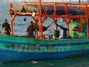 越南驻泰大使馆对在泰国海域被扣留的渔民进行公民保护工作