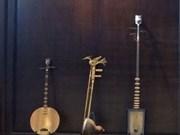 河内古街区民族传统乐器展给参展观众留下美好印象