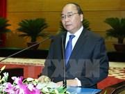 阮春福总理出席2016年上半年全军军政会议