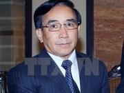 老挝人民革命党中央书记处常务书记、国家副主席潘坎·维帕万对越南进行正式访问
