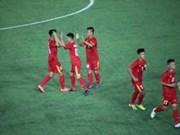 东南亚U16足球锦标赛:越南队取得开门红