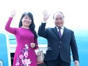 阮春福总理抵达蒙古首都乌兰巴托 开始对蒙古进行正式访问