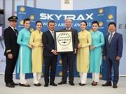 越南国家航空总公司荣获四星级航空公司认证证书