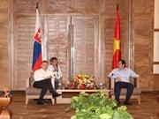 斯洛伐克总理罗伯特·菲乔访问岘港市