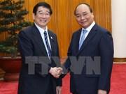 越南政府总理阮春福会见日本文部科学省副大臣富冈勉