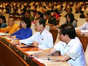 越南第十四届国会第一次会议:国会代表肩负人民的重任
