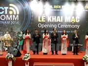 2016年越南国际通讯展正式开展