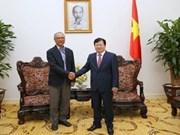 老挝希望与越南大型电力企业加强合作