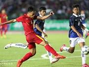 东南亚U16足球锦标赛:越南队晋级决赛