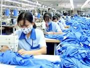 今年前6个月越南纺织品服装出口总额达126多亿美元