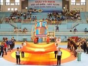 2016年全国古典式摔跤和自由式摔跤锦标赛在太原省开赛