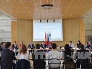 第四次法越高级别经济对话在法国举行