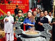 在柬埔寨牺牲的479号阵线越南志愿军纪念工程正式竣工
