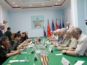 越南退伍军人协会代表团对俄罗斯进行工作访问