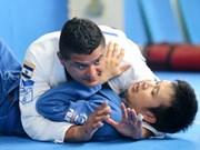 越南柔术代表队在2016年亚洲沙滩柔术锦标赛中获得8枚金牌