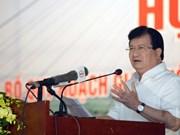 越南政府副总理郑廷勇:越南欢迎投资商对越南交通基础设施进行投资