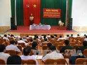 越南党和国家领导走进基层倾听选民意见建议