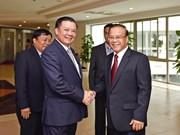 越老两国财政部加强合作关系