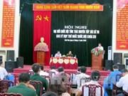 越南政府副总理范平明接触太原省的选民
