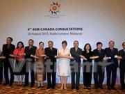 东盟与加拿大正式启动年度贸易对话 寻找自贸协定开启机会
