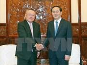 国家主席陈大光:越日合作潜力巨大