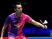 2016年里约奥运会:阮进明0-2输给中国选手林丹