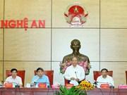 阮春福总理:乂安省应着力更新思维方式 谋划经济社会发展